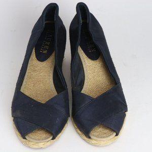 Ralph Lauren Cecilia Size 6 Women's Wedge Sandals